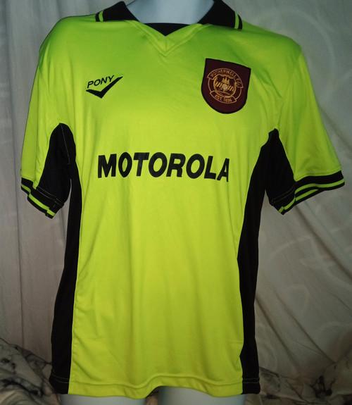 Motherwell Away 1997 - 98