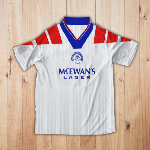 Rangers Away 1992-94