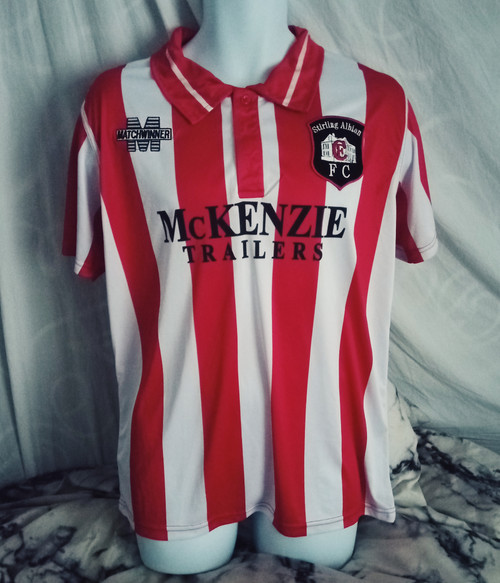 Stirling Albion Home 1999-00
