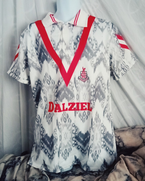 Airdrieonians Home 1991 92