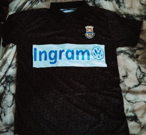 St Mirren Away 1992-93 Version 2