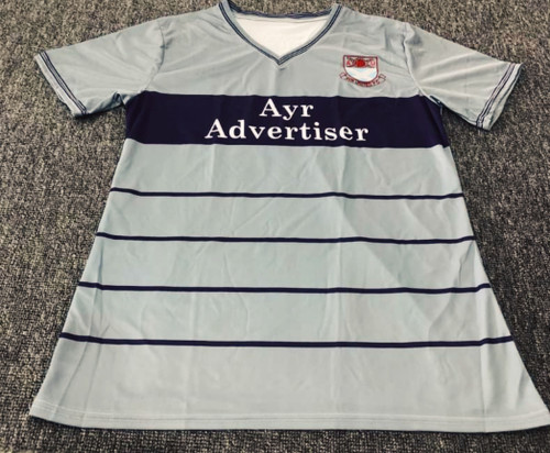 Ayr United Away 1987 - 88