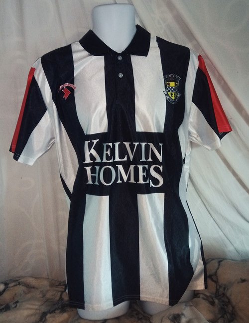 St Mirren Home 1991-92