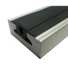 "L-Track rubber strip filler can be inserted to help prolong the life and quality of your L-Track by protecting unused sections of track.  60"" Rubber Filler Strip for L Track (3/4 inch wide) For use with all types of Series L Aluminum Track"