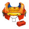 Switlik Coastal Passenger Raft in Soft Valise - Coastal Passenger Raft – Convertible Canopy SWITLIK's CPR is designed to be a high quality, light weight, best in class coastal life raft, with a convertible canopy system, large, fast deploying water ballast bags and heat sealed construction. The CPR provides 1,140 lbs of inflated buoyancy and 19.6 sq. ft of floor area and offers excellent ventilation as well as total protection from the elements.