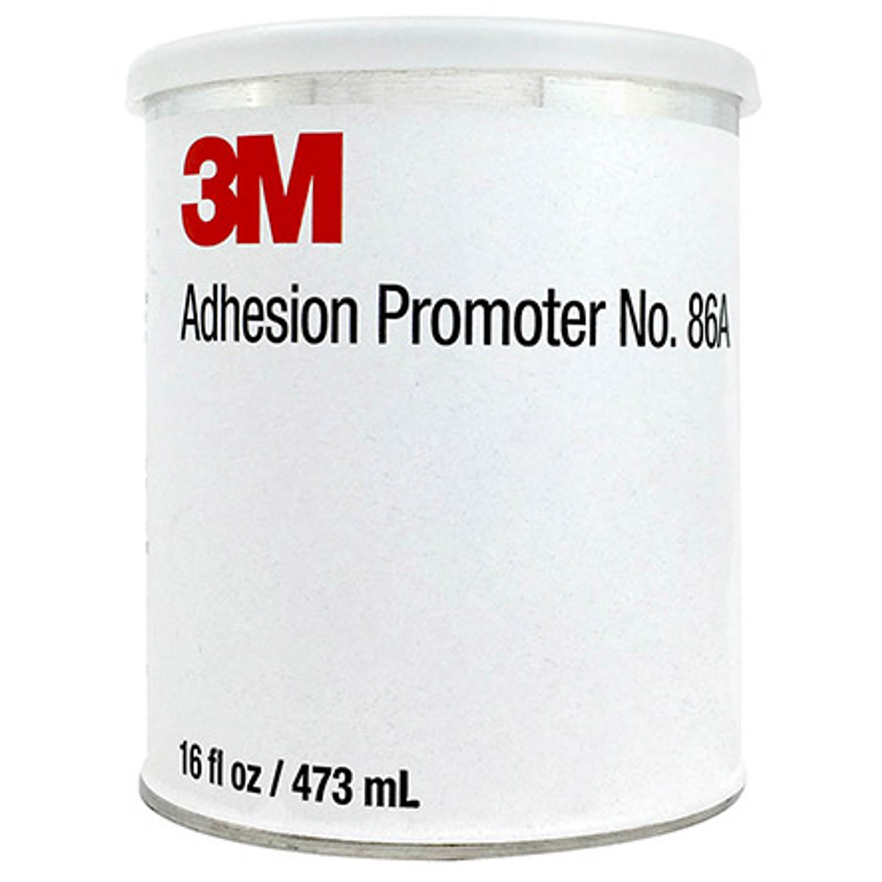 """3M 021200-31592 Transparent 86A Adhesive Adhesion Promoter - Pint Can Part#: 021200-31592by 3M  This liquid """"primer"""" is designed for use with 3M Polyurethane Protective Tapes and Boots as well as other acrylic adhesives. 3M 86A enhances initial adhesion to certain types of surfaces, such as polyurethane paint, epoxy primers, or epoxy composites. It is not intended for use where acrylic adhesive would be in direct contact with aluminum, stainless steel, carbon, steel or glass. Approvals/References/Specs  Hartzell Propeller PN: A-6741-124 Hartzell PN/Spec#: A-6741-124"""