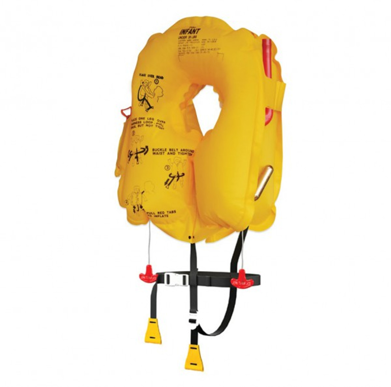 Eastern Aero Marine Vests – Infant Series Life Vest / P0640-101 This specially designed and affordable life vest is made exclusively for children less than 35 lbs. (16 kg). EAM infant vests come in USA and European versions, for the constantly changing safety markets of commercial carriers.