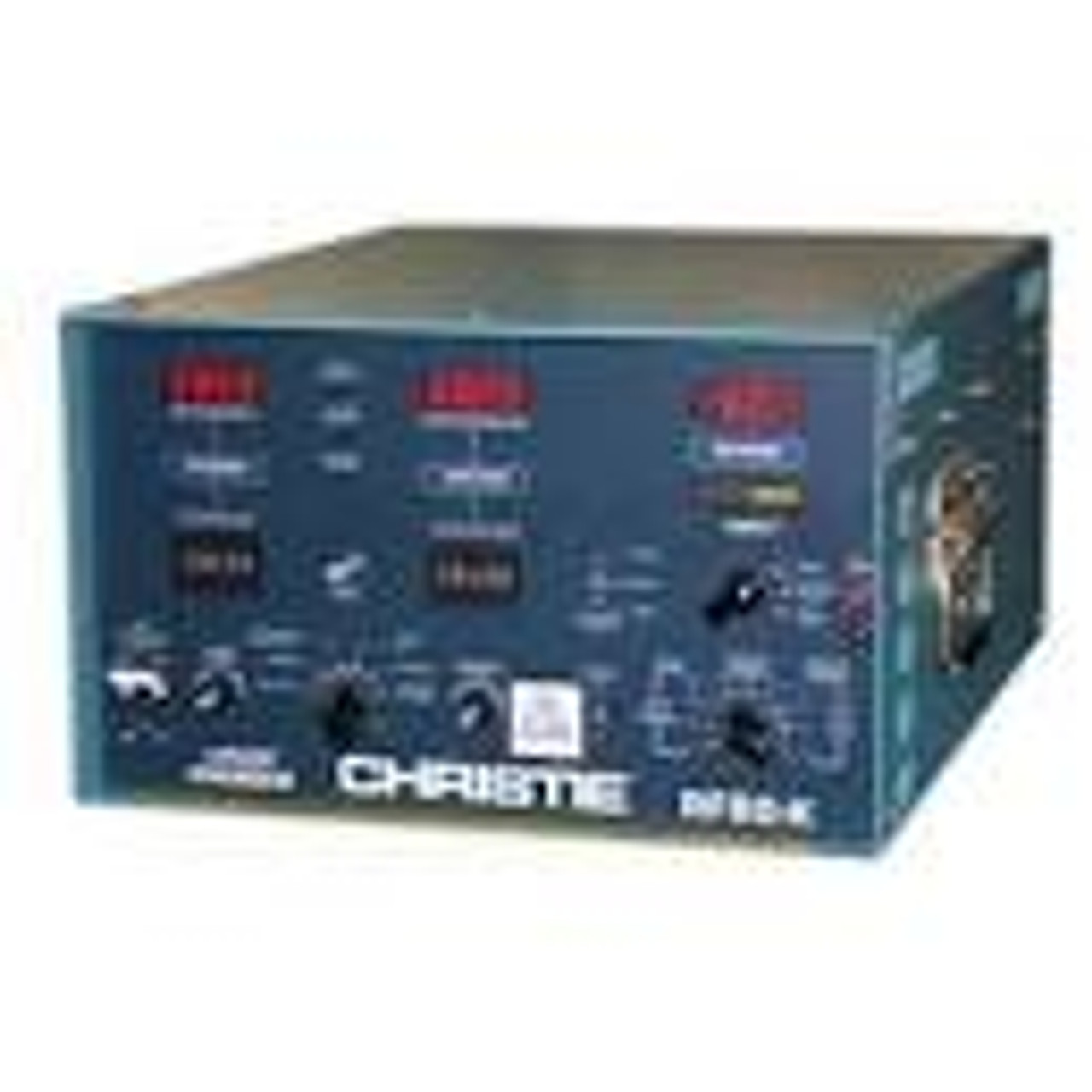 Christie RF80-M Aircraft Lead Acid & Ni-Cad Battery Charger / Analyzer / 123020-001  The NEW CHRISTIE® RF80-M® Aircraft Battery Charger/Analyzer is the latest evolution of the popular RF80 series which has been the worldwide industry standard for decades. The RF80-M is the first product of its kind to feature an advanced microcontroller with touch-screen display. The optional ABMS-10X PC Interface provides PC control, data-logging, diagnostics and expanded battery processing capabilitiespart Number:123020-001 .-