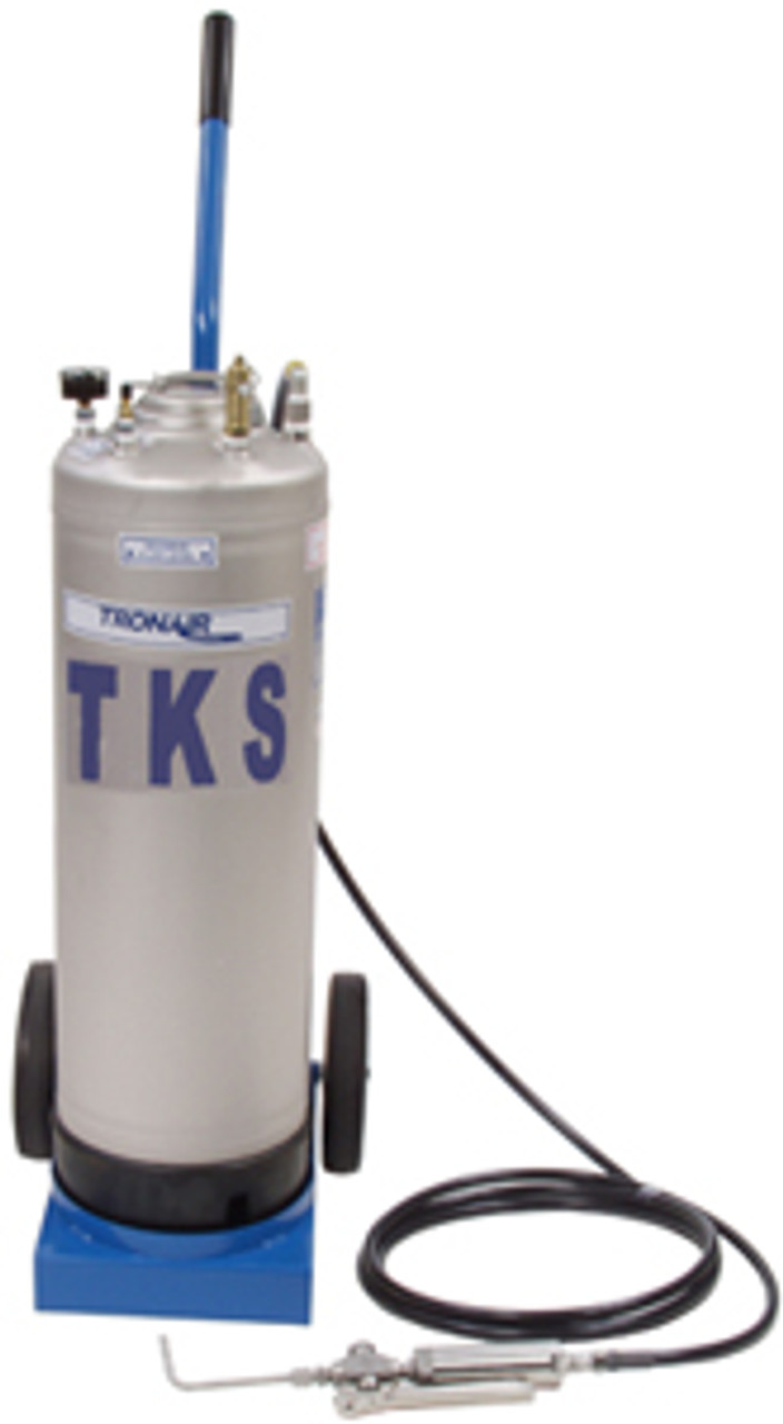 TRONAIR TKS RESERVOIR SERVICE UNIT CE Part# 09-5046-6500 by Tronair The Tronair 09-5046-6500 is designed specifically for servicing TKS anti-icing fluid reservoirs. The TKS unit is lightweight and easy to use.