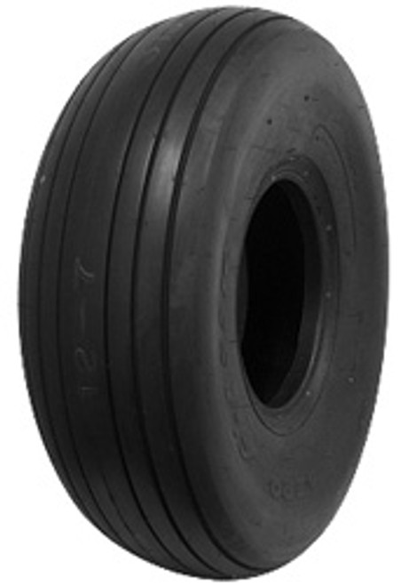 Higher speeds mean heavier loads. Rely on Goodyear Ribbed Tires to lower your cost-per-landing with a unique body cord shape that minimizes stress as the tire cycles from tension to compression. The GoodYear Ribbed Tire's exceptional strength surpasses FAA standards for overload during takeoff and taxi.  GoodYear® Ribbed Aviation Tires Features Bias-ply construction Unique cord body shape Superior casing design Specially compounded tread design and large contact area  GoodYear® Ribbed Aviation Tires Benefits High speed performance and greater overload capacity Reduced stress as the tire cycles from tension to compression Excellent heat dissipation and bruise resistance Great flotation and extended treadlife