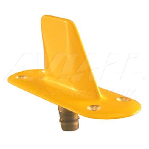 ITT Exelis DM 1601354-001 L Band Vertical 4-Hole Mount Blade Antenna - 960-1220 Mhz Part#: DM1601354by ITT Exelis.- The DM 1601354 L-Band Antenna has been designed for BCAS characteristics to provide more stringent radiation pattern directivity to assure reliable system performance.  Features of the DM NI50-Series have still been retained to provide:  Extremely high side-load strength guards against breakage by ground handling gear. Completely sealed construction prevents failure from moisture incursion. Lightning protection circuits prevent damage to antenna and saveguards electronic equipment.