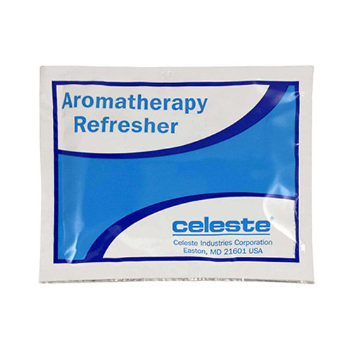 Celeste® RT-7810CL/4 Citrus Scent Refresher Towelettes - 60 Towelette/Box Part#: RT-7810CL-4by Celeste® This self-enclosed, high quality, towelette offers all the luxury of the Hot Towel Service in the convenience of a pre-packaged towelette. Unlike the vast majority of towelettes on the market today, Celeste's Refresher Towelette is made of a soft polyester / rayon blend in an extra generous size and is infused with a lemon citrus fragrance.