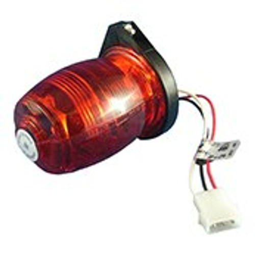 Whelen 01-0770019-18 Model A470AR Red Lens Strobe Head Assembly Part#: 01-0770019-18 by Whelen A remote strobe light assembly, compatible with all Whelen power supplies. It can be installed on the fuselage or the vertical fin. The unique polycarbonate optic lens and reflector design, re-directs stray light rays into the horizontal plane to provide the maximum 360º of uniform light coverage possible. Available in three different lens colors, Aviation Red, Aviation White and Split Aviation Red/White. Available in radio-shielded configurations. All assemblies require either the model H102 or H103 mounting adapter.
