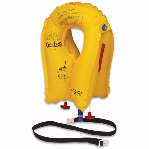 EAM XF-35 Series Twin-Cell Life Vest Yellow, Passenger, 5 Year Inspection / P01074-101 The XF-35 is the world's lightest weight twin -cell vest in the aviation market today, only 1.13 lbs. (513 grams). The XF-35 offers significant fuel savings to operators wishing to stay with the added security of a twin-cell vest. 5 year frequency of inspection standard.