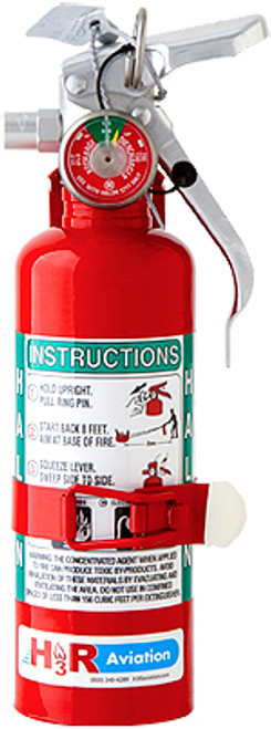 H3R Halon 1211 Fire Extinguisher, Model A344T -H3R Aviation Inc -Part #A344T Model A344T is our smallest Halon 1211 fire extinguisher. Recommended for a 1-4 person aircraft, including the pilot. Also available in chrome finish, see model A344TC.