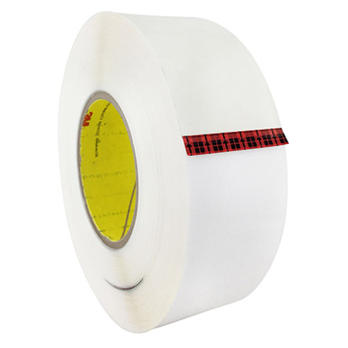 "3M™ 021200-67201 Transparent 8671 Polyurethane 14 Mil Protective Tape - 6"" x 36 Yard Roll / Part#: 021200-7201/by 3M™ Formulated for resistance to ultraviolet lightTough, thermoplastic polyurethane elastomer has a high peel strength and is abrasion, scratch, erosion, tear and puncture resistantThin and conformable tape is easy to apply and conforms over curved surfacesCan be painted over, or applied to painted surfaces  A leading edge, erosion protection tape that is a tough polyurethane with acrylic adhesive that resists punctures, tearing and abrasion."