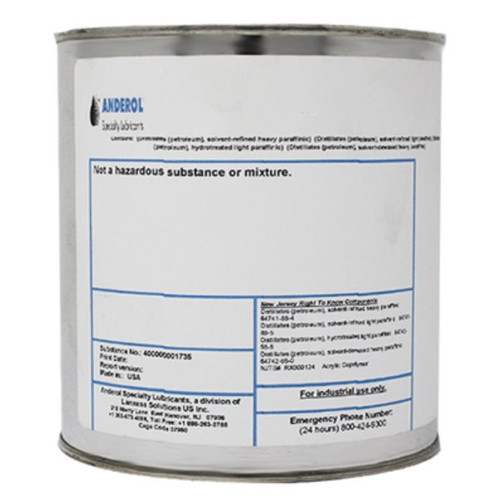 ROYCO® 1MS Black MIL-PRF-83483D MO2-Petrolatum Anti-Seize Thread Compound - 1.75 lb Can Part#: 4056562 by Royco  An engineered compound of advanced additives, inorganic gel thickeners, and MoS2 that provides superior performance for high load and sliding surface use under severe operating conditions, broad temperatures and/or corrosive environment.