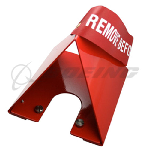 Sesame Technologies Angle-of-Attack Vane Cover Part # RCA0AC2 by Sesame Technologies Tough-as-nails, non-flammable Red Kevlar construction does not melt Operating temperature to 800°F