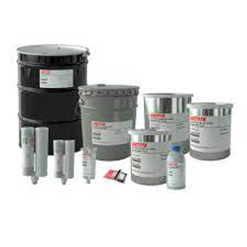 LOCTITE EA 9394 AERO EPOXY ADHESIVE GRAY 5 GALLON MP SYSTEM Part # 549733 by Henkel  This epoxy paste adhesive possesses outstanding strength at temperatures reaching 177°C and above. Loctite EA 9394 features a mixed viscosity of 1600 Poise, density of 1.36 g/ml, and a tensile strength of 6,675 psi. Loctite EA 9394 AERO, known as Hysol EA 9394, is a room temperature curing, thixotropic, two-part epoxy paste adhesive that offers good gap filling capabilities, long pot life, and low toxicity. This adhesive has outstanding strength at temperatures reaching 177°C and above.