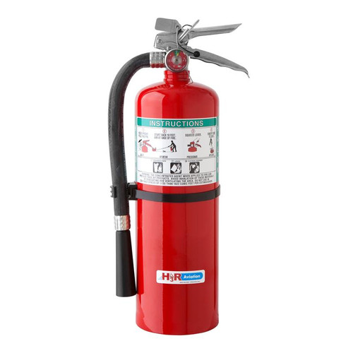 H3R B369 - 9.0 lb. Halon 1211 Fire Extinguisher Part #B369by H3R ModelB369packs an abundance of firefighting power in a compact package with a discharge hose. Requires optional bracket NB500 or 809 for use on aircraft. NOTE: This is a Special Order item. Pleasecontact uswith the purchase quantity and we will confirm lead time. Ships to contiguous US only.