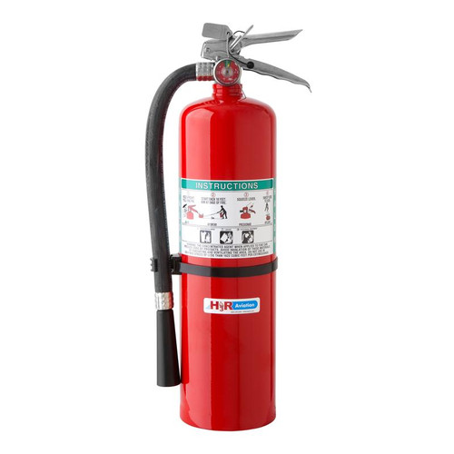 B371 - 13.0 lb. Halon 1211 Fire Extinguisher Part # B371 by H3R ModelB371meets NFPA recommendations for combi and cargo aircraft use.Requires optional bracket NB500 or 809 for use on aircraft. NOTE: Ships to contiguous US only. No overnight/expedited/air shipping due to Hazmat limitations.