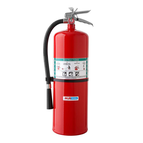 H3R 361 - 17.0 lb. Halon 1211 Fire Extinguisher Part # 361 by H3R Tremendous firepower. Model 361 meets NFPA recommendations for combi and cargo aircraft use. Requires optional bracket 810 for use on aircraft. NOTE: This is a Special Order item. Please contact us with the purchase quantity and we will confirm lead time. Ships to contiguous US only.