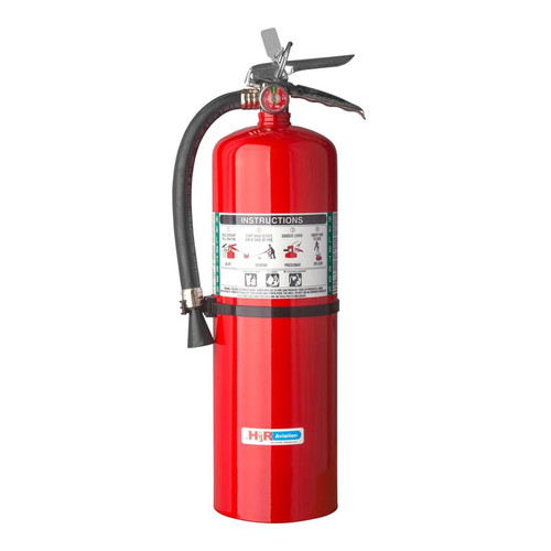 H3R 398 - 15.5 lb. Halotron 1 Fire Extinguisher Part # 398 by H3R Halotron® 1 is the most widely tested and accepted Halon 1211-alternative agent for streaming applications. Just like Halon 1211, Halotron® 1 expels as a rapidly evaporating liquid and leaves no residue. Halon-alternative Halotron® 1 fire extinguisher Model 398 meets the FAA-approved minimum performance standards in report DOT/FAA/AR-01/37 and is accepted for use on-board aircraft.