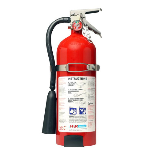 H3R FM10T - 10.75 lb. FM-200 Fire Extinguisher Part # FM10T by H3R Halon-alternative FM-200® (HFC-227ea) fire extinguishers offer environmentally responsible fire fighting performance. Besides aviation applications, Model FM10T is an ideal fire extinguisher for computer rooms, telecommunications facilities, clean rooms, data storage areas, offices (for protection of sensitive electronic equipment), and boats. Do not use in confined spaces less than 250 cubic feet/7.08 cubic meters.