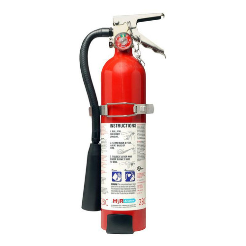 H3R FM05T - 5.75 lb. FM-200 Fire Extinguisher Part # FM05T by H3R Halon-alternative FM-200® (HFC-227ea) fire extinguishers offer environmentally responsible fire fighting performance. Just like Halon 1211, FM-200® attacks fire without leaving a messy residue. It effectively extinguishes Class B and C fires by cooling and smothering and it will not conduct electricity back to the operator. Model FM05T meets the FAA-approved minimum performance standards in report DOT/FAA/AR-01/37 and is accepted for use on-board aircraft. Do not use in confined spaces less than 150 cubic feet/4.25 cubic meters.