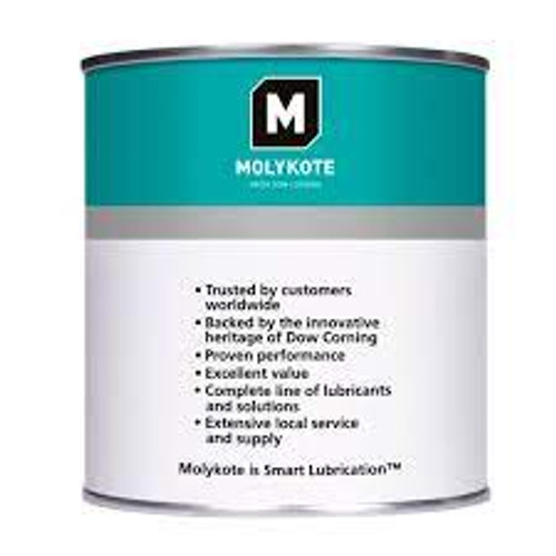 MOLYKOTE E PASTE 20KG PAIL Part # 4131304 by Dow Corning Molykote E paste is a synthetic hydrocarbon past containing several kinds of special solid lubricants.Dow Molykote E paste is a heavy duty lubricating paste that has excellent load-carrying capacity and wear resistance.