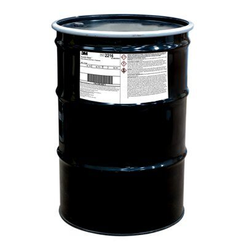 3M SCOTCH-WELD EPOXY ADHESIVE 2216 53 GALLON DRUM PART A TRANSLUCENT Part # 7010330240 by 3M Industrial 3M 2216 Epoxy Adhesive is designed for applications where high performance and flexible bonds are required. Its flexibility makes it ideal for applications involving dissimilar surfaces and where differing coefficients of thermal expansion are a consideration.3M 2216 is a flexible, two-part epoxy adhesive that cures at room temperature. It provides a high strength bond with both high shear and peel strength while remaining highly flexible, making it ideal for applications where vibration and thermal expansion and contraction are common. It also withstands very cold temperatures without becoming brittle.