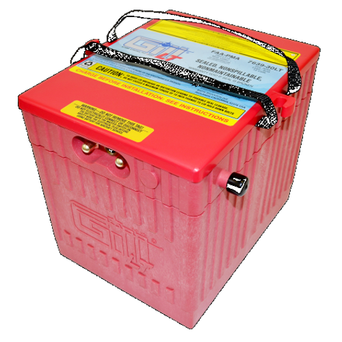 Gill® LT Valve Regulated Sealed Lead Acid Aircraft Battery Extreme Cranking Power-BizJet , 24V, 30Ah Part # 7639-30LT by Gill Battery Gill® Batteries are the original equipment aircraft battery. They offer the better performing sealed lead acid battery that is fast becoming the choice in a growing list of airframe manufacturers. Features: Sealed, Non-Spillable Valve-regulated lead-acid battery (VRLA) Weight: 68 lbs Electrolyte: Not needed Capacity: 1 Hr (C1) 30 Ipp: 30 Min (2C) 45 Ipr: N/A The 7639-30LT is 'Original Equipment (OEM)' for the Embraer 500 No additional STC Hardware is required Maintenance Free-Shipped Fully Charged and No Electrolyte or Water Required Non-Spillable and Proven for Aerobatic Maneuvering 2 Year Factory Warranty After Installation Robust Starts, Higher Residual Power & Faster Re-Charge Times First Capacity Check Not Required Until 18 Months/1800 Hours Cost Competitive and Best Shelf Life in Lead Acid Chemistry Advanced Valve Regulated Lead Acid (VRLA) Design FAA/PMA Approved, TSO Authorized and Tested to DO-160E LT Series Batteries Are Fully Recyclable LT Series Batteries Ship Hazmat Exempt Start strong with the Gill 7639-25 for your Embraer 500 and Cessna Citation 510 Mustang. Original equipment with no additional STC Hardware required.