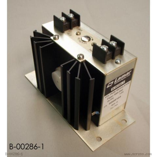 LAMAR VOLTAGE REGULATOR  28V PARALLEL/B-00286-1 The Lamar B-00286-1 Regulator has been FAA/PMA approved as a replacement for the following; B00296-1, B-00296-2, B-00296-3, B-00301-1, B-00301-1, B00307-1, B-00343-1, and 1816100. Also approved for some Piper PA-23, PA-31 and PA-34 series aircraft.