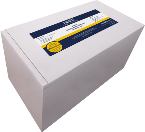 FUELSTAT® PLUS FHR8-2 Aviation Jet Fuel Test Kits ASTM D80707   ASTM D6469 - Box with 8 Test Kits Part# FHR8-2 Now with FUELSTAT, tests are done on-site, right at the tank, and results are given in minutes... So any treatment of the contamination required can be done right there, right then. Unlike incubating products, FUELSTAT selectively tests for the microbial species known to cause issues, enabling fast, targeted remedial action only where required. FUELSTAT® identifies the presence of microorganisms known to contaminate and degrade fuel by detecting their antigens. Antigens act as markers that can be assessed using immunoassay antibody tests. Immunoassay antibody technology is specific which allows FUELSTAT to only identify the presence of fuel degrading microorganisms; other types, such as those that may be found on humans and the surrounding environment and could easily contaminate a test, will not be detected.Sterility and cross-contamination of tests is therefore less of an issue than other techniques. FUELSTAT®will give results as negligible, moderate, or heavy level of contamination, reflecting IATA guidelines1. Each group of organisms; bacteria, fungi (moulds and yeasts) and H.res are tested on high and low LFD assays, giving a clear picture as to which group of microorganisms are present in the fuel and the level of contamination. Detailed test procedure can be found at reference2. Immunoassay antibody tests are inherentlyquick, simple and reliable. This technology is prepared and enclosed in the plate allowing the test to bedone in 15 minutes, on site and with minimal training. By measuring the presence and intensity of test lines, the FUELSTAT app is available to help read the tests, record and communicate data, so that work can be done in solo conditions and multiple locations FUELSTAT is an immunoassay antibody test similar to the pregnancy tests that we are all familiar with, but instead of searching for the markers of pregnancy hormones (HCG), FUE