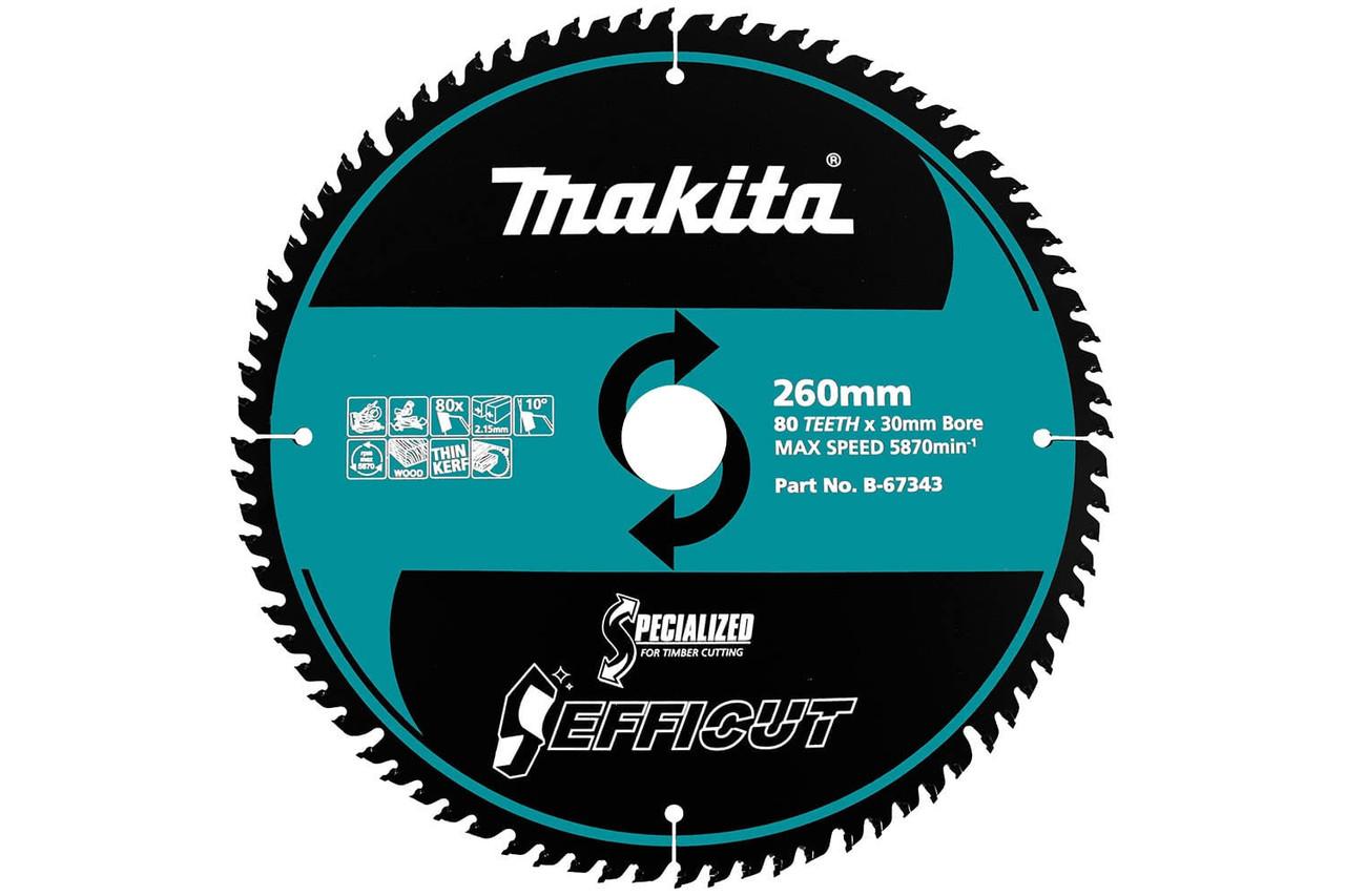 B-64646 260 x 45T Makita Efficut Wood Blade