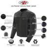 Joe Rocket Velocity Mens Mesh Motorcycle Jacket - Infographics