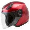 GMax OF17 Open Face Helmet - Candy Red