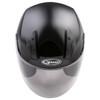 GMax OF17 Open Face Helmet - Black Top View
