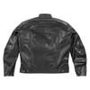 Joe Rocket Powershift Mens Leather Motorcycle Jacket - Back View