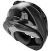 GMax FF-49 Deflect Helmet - Black/Grey Rear View