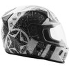 Fly Revolt FS Liberator Helmet - White/Black Right Side View