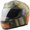 Fly Revolt FS Liberator Helmet -Brown/Orange