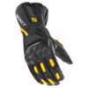 Joe Rocket GPX 2.0 Mens Leather Motorcycle Gloves - Black/Yellow