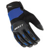 Joe Rocket Velocity 3.0 Mens Textile Motorcycle Gloves - Black/Blue