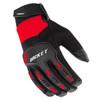 Joe Rocket Velocity 3.0 Mens Textile Motorcycle Gloves - Black/Red