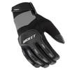 Joe Rocket Velocity 3.0 Mens Textile Motorcycle Gloves - Black/Silver