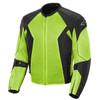 Joe Rocket Phoenix 6.0 Mens Mesh Motorcycle Jacket - Black/Hi-Viz