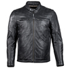 Cortech Idol Mens Motorcycle Leather Jacket - Black