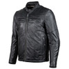 Cortech Idol Mens Motorcycle Leather Jacket - Black Side View