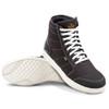 Cortech Freshman Mens Motorcycle Shoes - Black/White Sole View